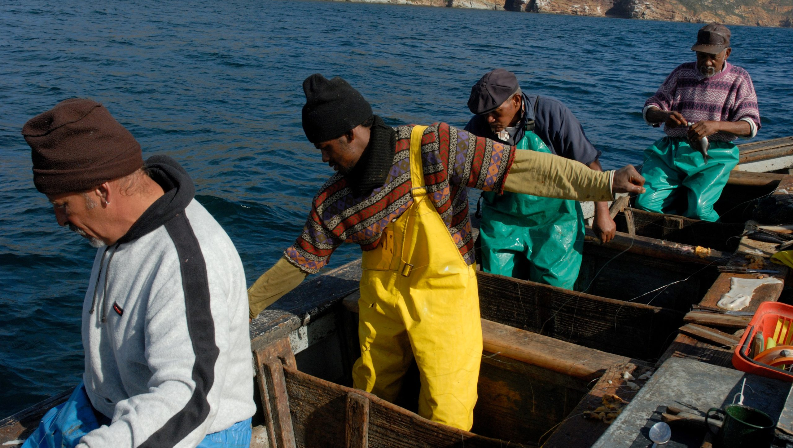 Covid-19: The impact on small-scale fishers—A perspective from Ocean View